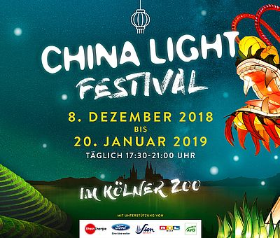 China Light Festival im Kölner Zoo